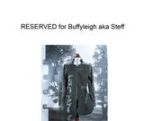 RESERVED for BUFFYLEIGH  aka Steff  Rakkaus CherryBranch Jacket OOAK