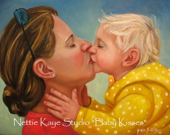 TWO PERSON PORTRAIT Oil on Canvas various sizes 11 x 14 and up