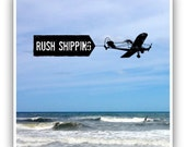 Rush shipping mail upgrade for orders handmade by Cathie Carlson
