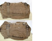 RESERVED for ROBERT Military Barracks Bag, Multi-pocket Duffel Bag, Age Unknown