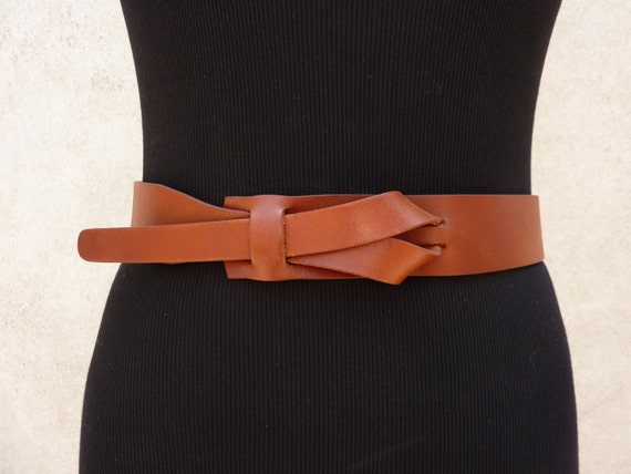 Cognac UNISEX Muse Leather Belt 1-1/2 wide NICKELFREE
