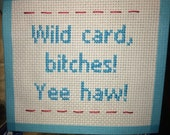 Needlepoint for all the WILD CARDs in your life