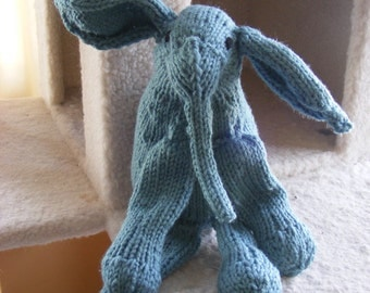 Knitted Tembo, the Elephant