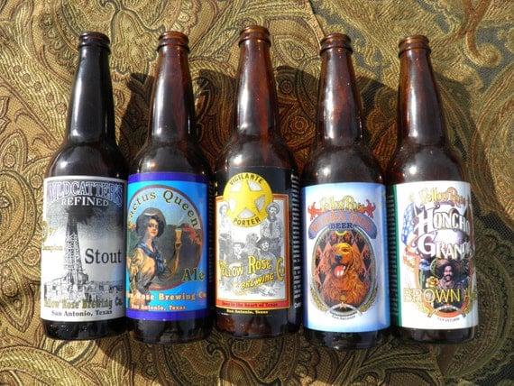 9 btls southern craft beer bottle collection western for Craft beer san antonio