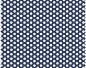 Navy with White Polka Dots, Fabric Traditions, Designer Cotton Quilt Fabric, Quilting Fabric, Navy Blue Fabric, Quilting Fabric