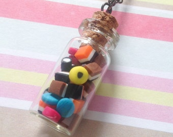 All The Allsorts Medium Bottle Necklace