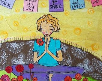 Greeting Card : Sending Blessings #144-C