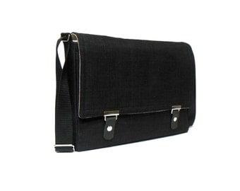 "13"" / 15"" MacBook Pro Retina messenger bag - black"