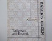Table Mats & Beyond, A Baker's Dozen - Handeaver's Guild of America