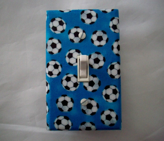 Switchplate Soccer Light Switch Cover Sports By