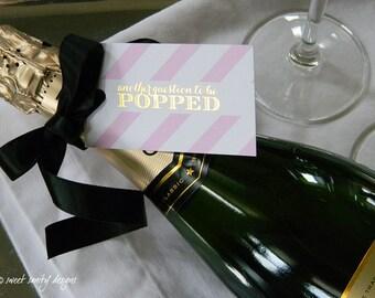 Gold Foil Bridesmaid Tags / Custom Listing for drek03 / Set of 12