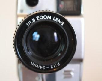Synchronex MK.1 Super Eight Sound Movie Camera, Tape Recorder and Accessories
