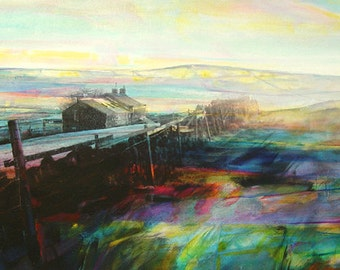 Softening Light, Keelham Edge (Limited Edition Archival Print, Size 3)