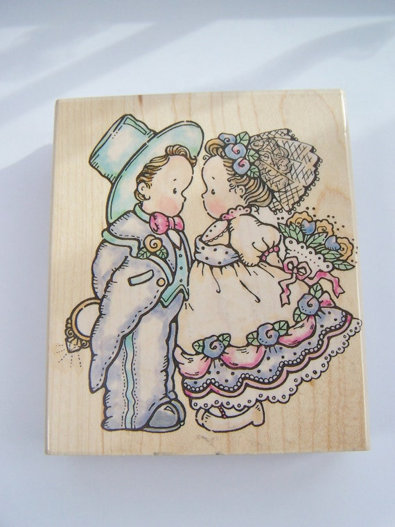 Penny black rubber stamp with this ring stamp for Wedding dress rubber stamp