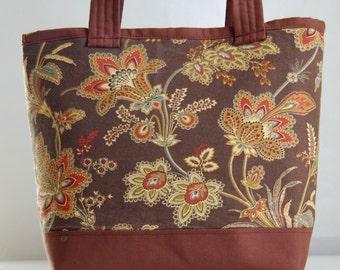 Barano Cocoa Fabric Tote Bag - READY TO SHIP