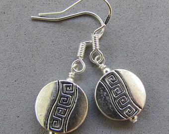 Tierra Cast beaded Earrings, Handmade by Harleypaws, SRADJ