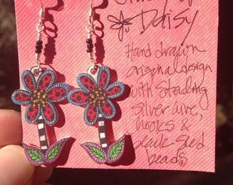 Crazy Daisy earrings