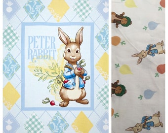 Classic Peter Rabbit Boutique Crib Mini Crib Nursery Toddler Neutral Bedding Set