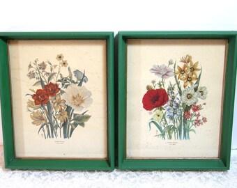 Vintage Loudon Floral Prints