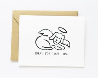 Sympathy, Pet Sympathy - Dog  Sympathy card