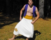 Aladdin Costume Vest and Pants Set for Men
