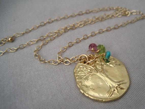 items similar to family tree necklace tree of