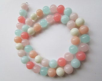 Pastel colored vintage necklace