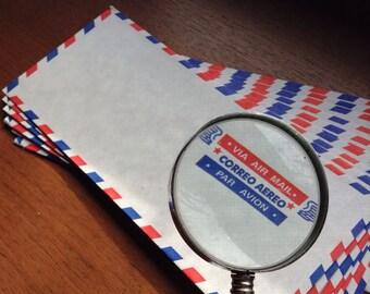 Retro Air-Mail Envelopes