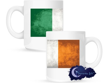 Flag of Ireland 15 oz Coffee Mug