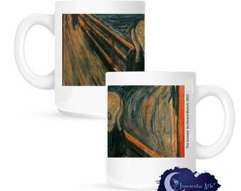 The Scream by Edvard Munch 15 oz Coffee Mug
