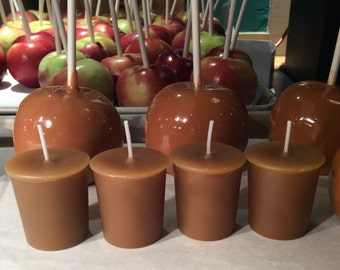 CARAMEL APPLE (4 votives or 4-oz soy jar candle)
