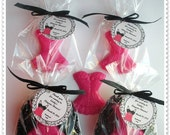 20 Lingerie Soap Party Shower Favors (Tags Included)