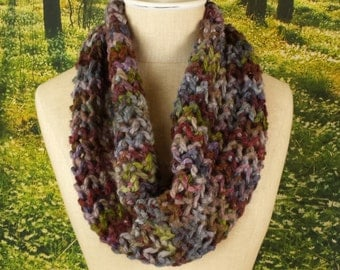 Cloudberry Lace Drape Cowl