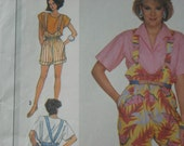 "Fun vintage 1986 Simplicity jumpsuit pattern - ""Easy Sew"""