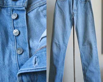 Levi Strauss 501 Button Down Jeans