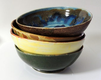 Bowl Medium Set of Four Hipster Bowls