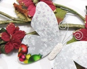 Butterfly Embellishments White Christmas