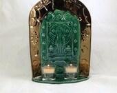 GODDESS GAIA of Abundance Shrine  Handmade Pottery Altar
