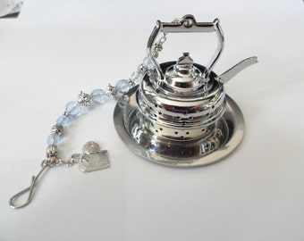 Tea Infuser, beaded teapot