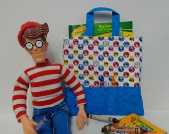 Where's Waldo? Crayon Tote