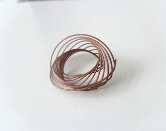 Copper spiral settings(2)
