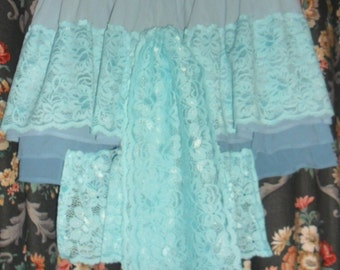 Forget me not TinkerBell Bustle Skirt