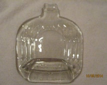 Slumped Crown Royal Bottle - Cutting Board - Spoon Rest - Candle Holder - Candy Dish - Great Gift