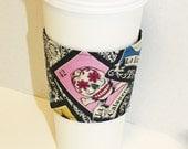 Tarot Cards - Reusable Coffee Sleeve