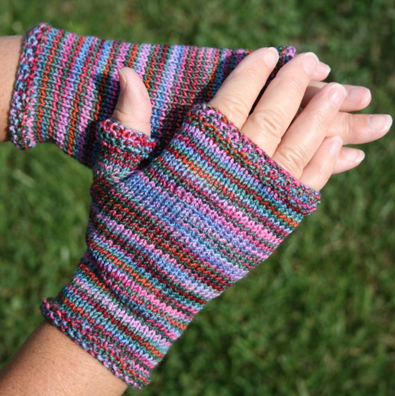 Basic Gloves Knitting Pattern : Pattern Fingerless Gloves Pattern hand by leedrasheirloomgoods