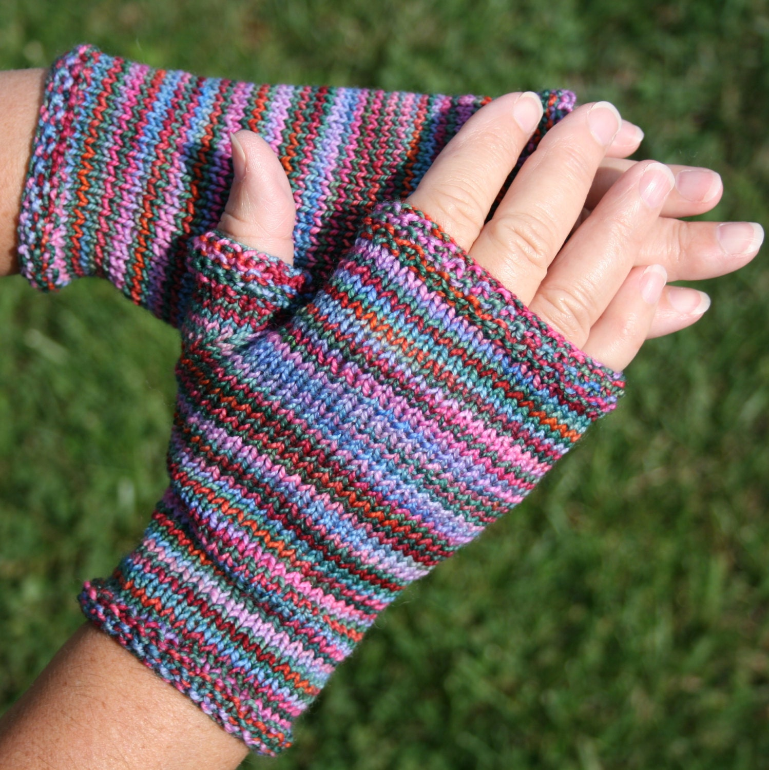 Hobo Gloves Knitting Pattern : Pattern Fingerless Gloves Pattern hand by leedrasheirloomgoods
