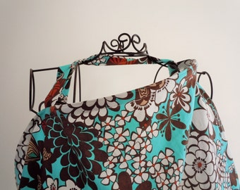 Couture Mama Nursing Cover - Satchi - Plus a FREE set of Hooter Soothers Washable nursing pads