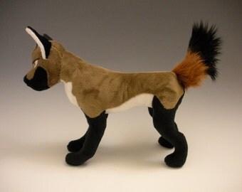 Masculine Canine Plushie - PDF PATTERN