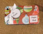 Christmas Coupon Book - Bulb * Gift * Stockings * For Him * For Her * Coupons * PERSONALIZED