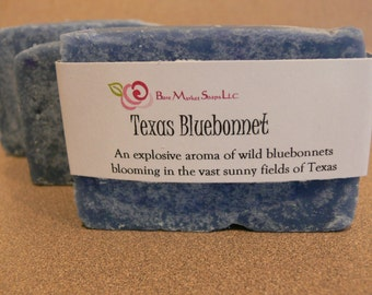 Texas Bluebonnet Bar Soap
